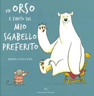 Biblioburro: Un orso è finito sul mio sgabello preferito
