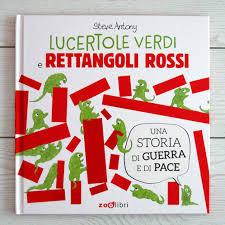 Biblioburro: Lucertole verdi e rettangoli rossi