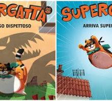 Biblioburro: Supergatta. Arriva Supergatta! e Un intruso dispettoso